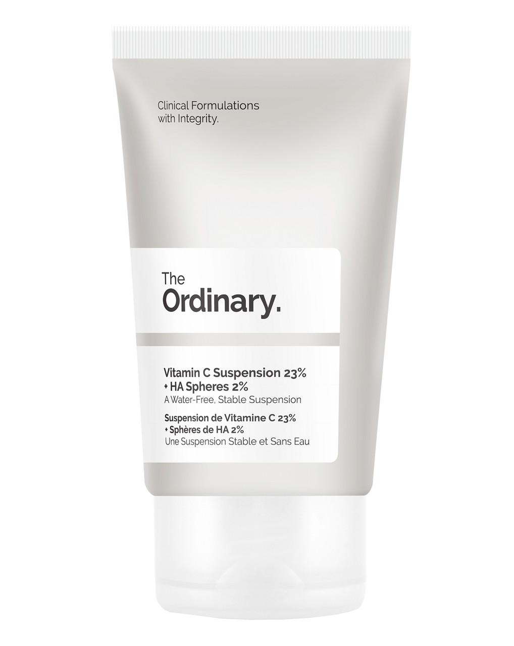 Сыворотка с витамином С и гиалуроновой кислотой The Ordinary Vitamin C Suspension 23% + HA Spheres 2%