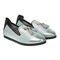 Туфли лоферы женские Kristi Belle (модный оттенок с блеском, качественные, удобные, оригинальные)