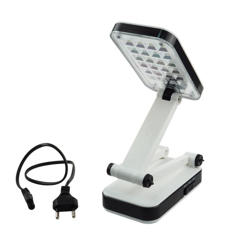 Настільна лампа трансформер з акумулятором LED Rechargeable Table Lamp 24 Led - світлодіодна лампа