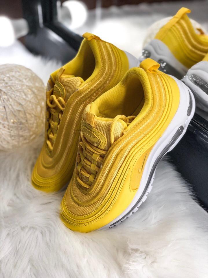 73e1d35a Женские кроссовки Nike Air Max 97 Yellow, Реплика ААА: продажа, цена ...