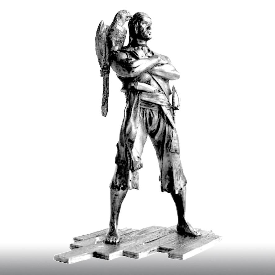 Пират флибустьер, 1697 год