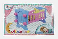 """Іграшка """"Ліжечко для ляльки ТехноК"""", арт. 4173"""