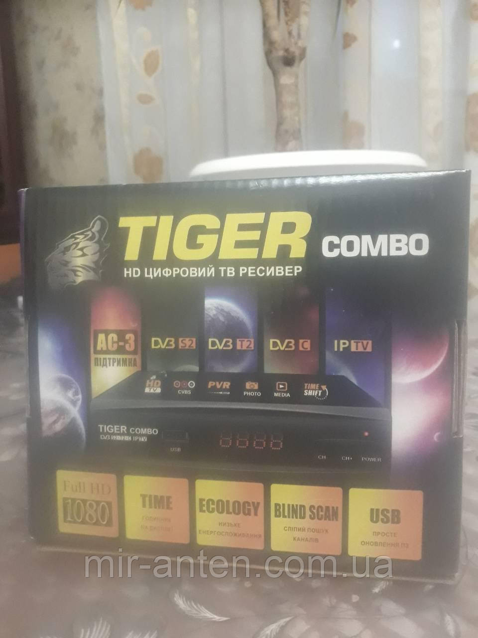 TIGER COMBO DVB-S2/T2/C