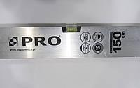 Правило штукатурное PRO с уровнем, алюминиевое, длина 1,5 м.