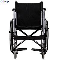 Стандартная инвалидная коляска ECONOMY-2 с санитарным оснащением, 46 см, фото 1