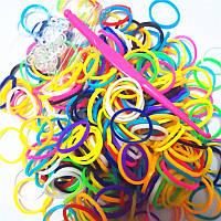 Набор резинок для плетения браслетов 300 штук