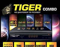 Спутниковый +цифровой ресивер Tiger-hd-combo DVB-S2/T2/C