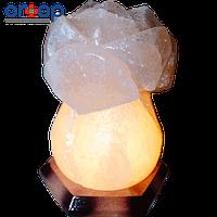 """Соляной светильник """"Роза"""" 3-4 кг"""