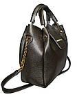 Женская серебряная сумка Michael Kors (26*27*13) , фото 3