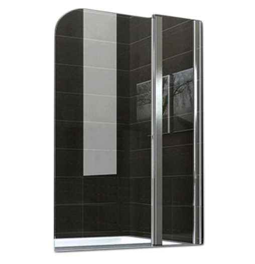 Стеклянная шторка для ванны 80х140 см А45