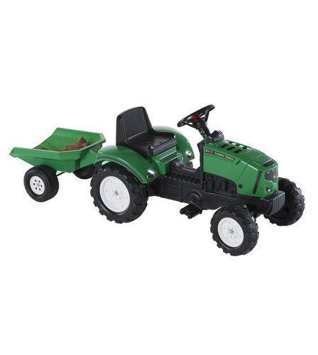 Трактор педальный с прицепом поднимается капот Lander Z160X Falk 2031A