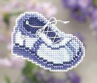 Набор для вышивки Mill Hill Blue Sneaker Синие кроссовки