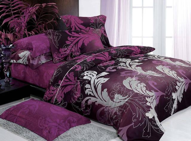 Двуспальный комплект постельного белья евро 200*220 хлопок  (10448) TM KRISPOL Украина, фото 2