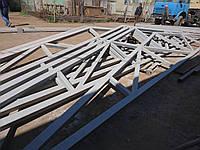Ангар Двускатный 24х24 навес, фермы, склад, сто, помещение, каркас, фото 1