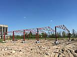 Ангар двускатный 15х30 склад помещения под бизнес, фермы, каркас, цех, фото 2