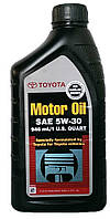 Моторное масло синтетика Toyota (Тойота) 5w30 1л