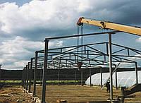 Склад 16х54х4 ангар, навес. фермы, стойки, под цех, зерно, сто, здание., фото 1