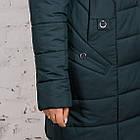 Женское теплое пальто с экомехом батал - (модель кт-320), фото 3