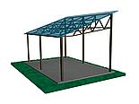 Односкат ангар 14х36 склад, навес, крыша, фермы, цех, производство,сто, фото 4