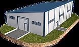 Односкат ангар 14х36 склад, навес, крыша, фермы, цех, производство,сто, фото 5
