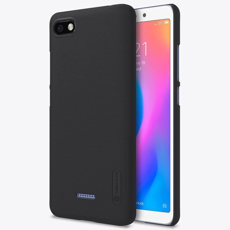 Nillkin Xiaomi Redmi 6A Super Frosted Shield Black Чехол Накладка Бампер