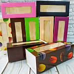 Упаковка для десертів, macarons, еклерів та цукерок