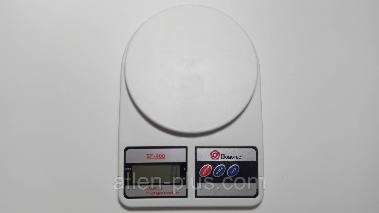 Весы бытовые кухонные Domotec MS-400 (10 кг/1г)