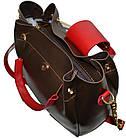Женская золото сумка Michael Kors (26*27*13) , фото 4