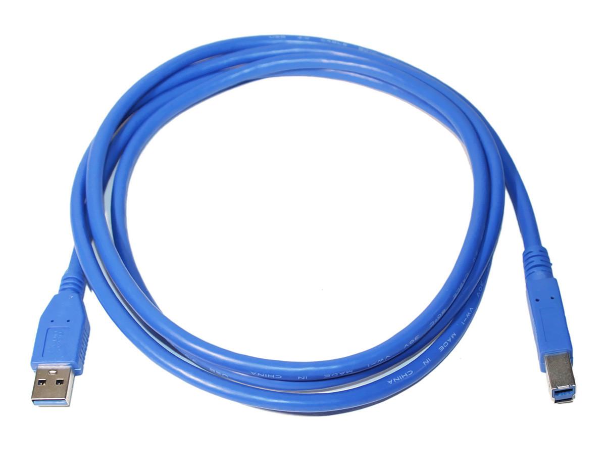 Кабель USB 3.0 - 1.8м AM/BM Atcom, синий