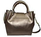 Женская золото сумка Michael Kors (26*27*13) , фото 2