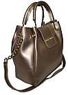 Женская золото сумка Michael Kors (26*27*13) , фото 3