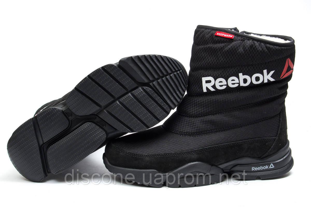 Зимние ботинки ► Reebok  Keep warm,  черные (Код: 30271) ►(нет на складе) П Р О Д А Н О!