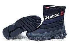 Зимние женские ботинки 30273 ► Reebok  Keep warm, темно-синие ✅SALE! 35% ► [ 38 ]