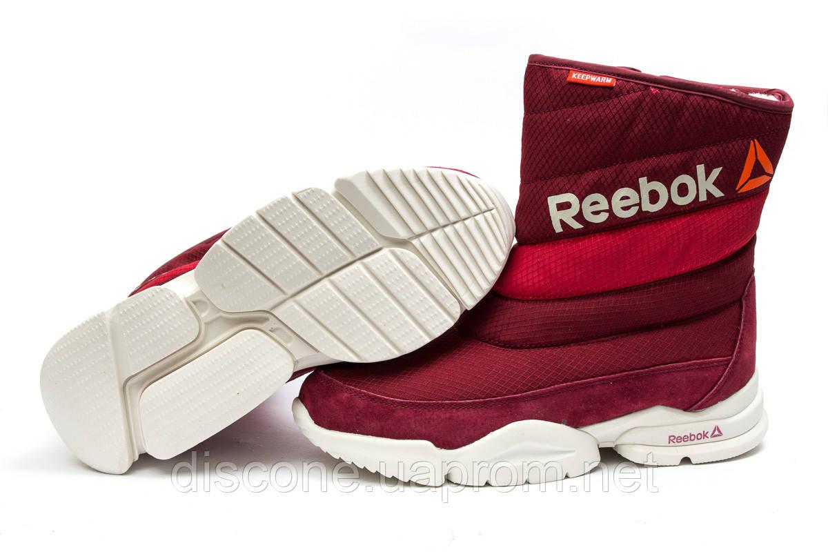 Зимние ботинки ► Reebok  Keep warm,  красные (Код: 30275) ►(нет на складе) П Р О Д А Н О!