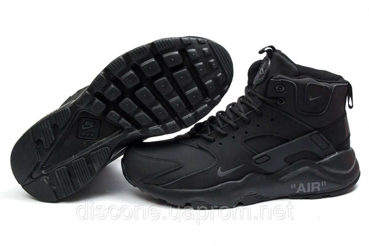 Зимние ботинки ► Nike Air,  черные (Код: 30291) ►(нет на складе) П Р О Д А Н О!