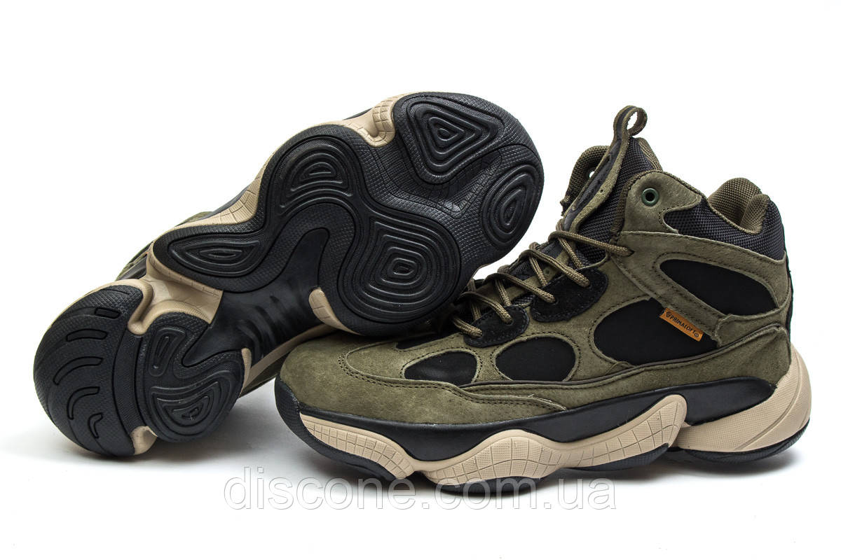 Зимние ботинки на меху ► Аdidas Primaloft,  хаки (Код: 30304) ►(нет на складе) П Р О Д А Н О!