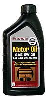 Моторное масло синтетика Toyota 5w20 1л