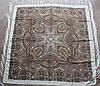 Платок шерстяной павлопосадский (120см) 607023, фото 2