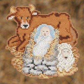 Набор для вышивки Mill Hill Baby Jesus Младенец Иисус