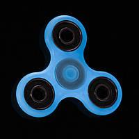 Спиннер люминесцентный Handspinner Lumen blue