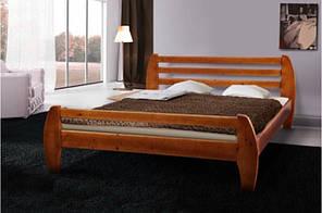 Ліжко деревяне Galaxy (темний горіх) 160*200