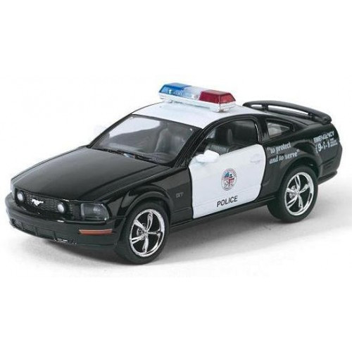 Машина металлическая KINSMART KT5091WP Полиция Ford Mustang GT
