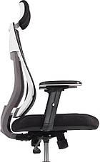 Детское компьютерное кресло Barsky Team White/Grey TWG-01, фото 3