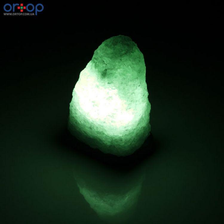 Соляная лампа SALTKEY ROCK (Скала) Little green 2-3 кг
