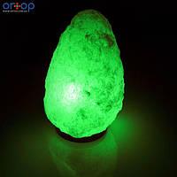 Соляная лампа SALTKEY ROCK (Скала)GIGANT green 12-14 кг