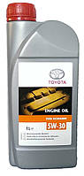 Моторное масло синтетическое Toyota 5w30 1л