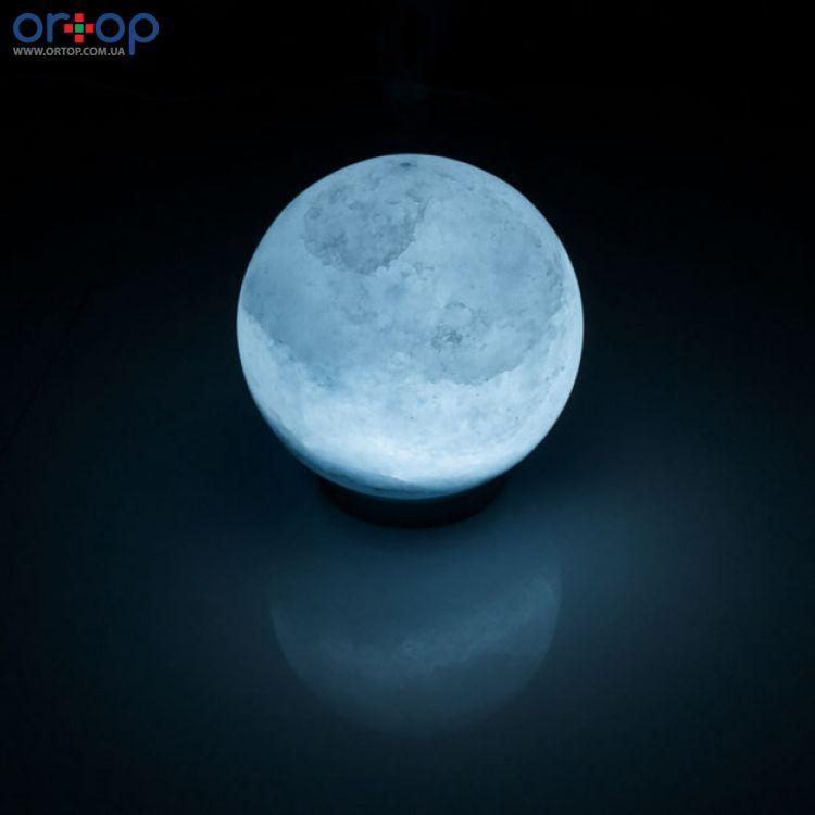 Соляная лампа SALTKEY BALL (Шар) blue 7-8 кг