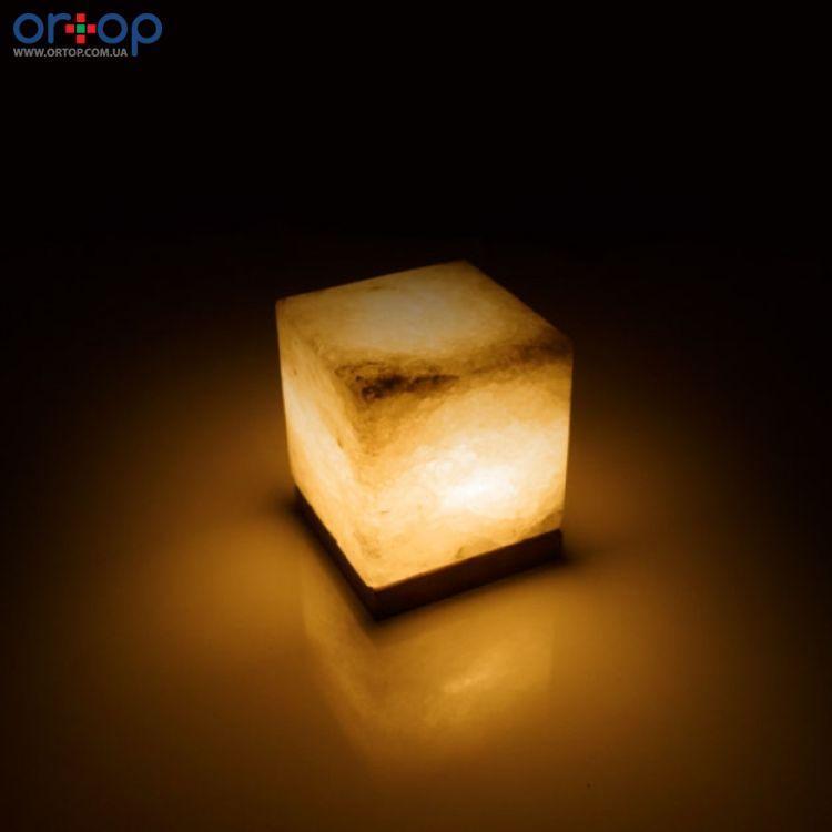 Соляная лампа SALTKEY CUBE (Куб) обычная 3,5-4 кг