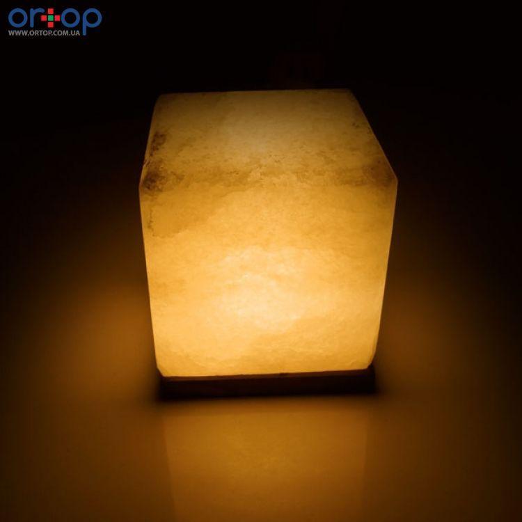 Соляная лампа SALTKEY CUBE (Куб) GIGANTобычная 10-11 кг