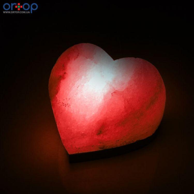 Соляная лампа SALTKEY LOVE (Сердце) red 6 кг